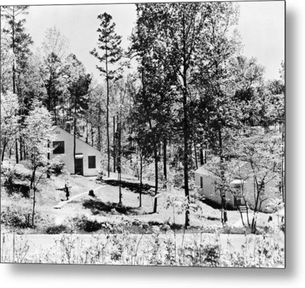 Tennessee Housing, C1935 Metal Print by Granger