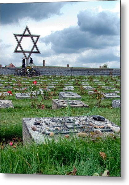 Terezin Metal Print by William Beuther
