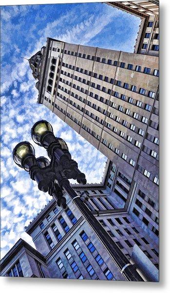 Terminal Tower - Cleveland Ohio - 1 Metal Print