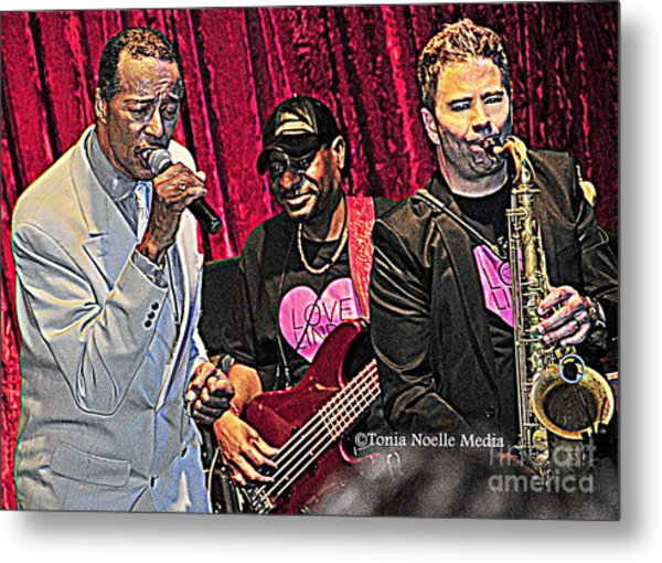 Terrific Trio Of Talent Metal Print