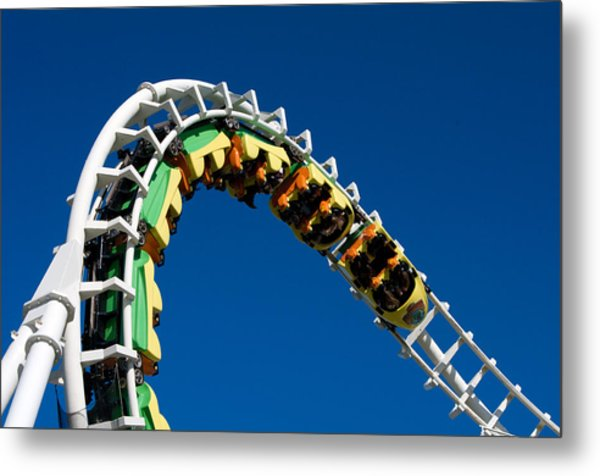 Test Drive The Sea Serpent Metal Print