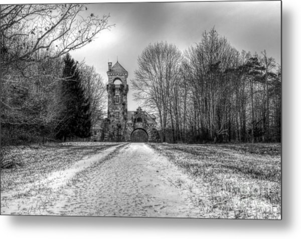 Testimonial Gateway Tower Metal Print