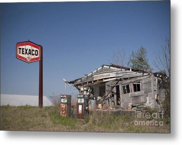 Texaco Country Store Metal Print