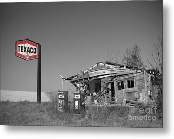 Texaco Country Store With Sign Metal Print