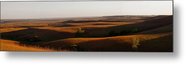 Texaco Hill Sunset Metal Print