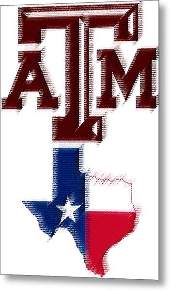 Texas Aggies Metal Print