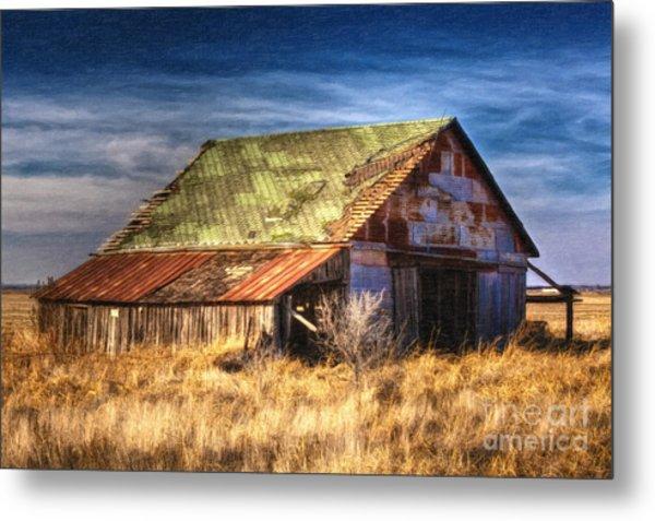 Texas Barn 1 Metal Print