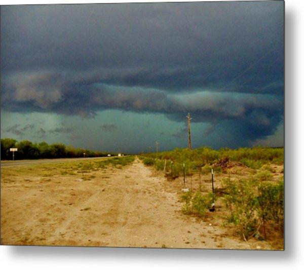 Texas Blue Thunder Metal Print