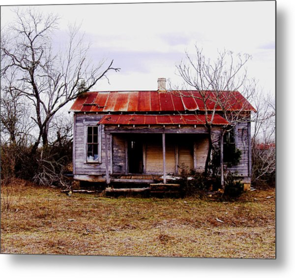Texas Duplex Metal Print by James Granberry