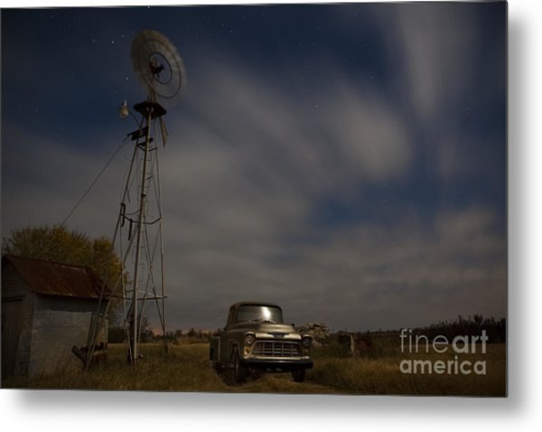 Texas Farm II Metal Print