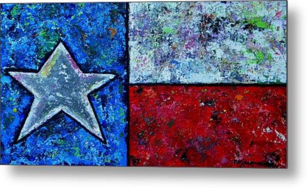 Texas In Color Metal Print
