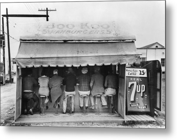 Texas Luncheonette, 1939 Metal Print by Granger