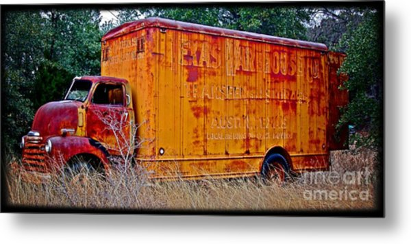 Texas Moving Co. - No.0651d Metal Print
