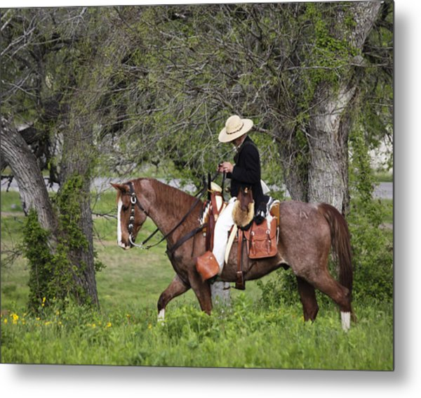 Texas Ranger Metal Print