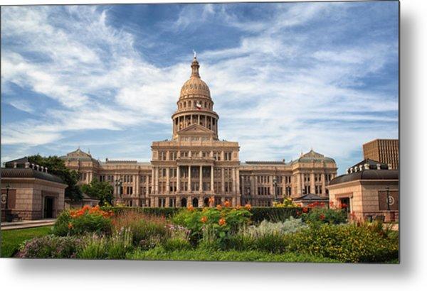 Texas State Capitol II Metal Print