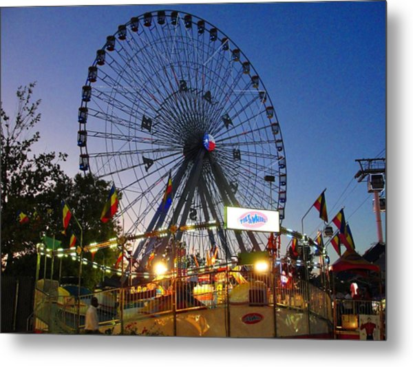 Texas State Fair Metal Print