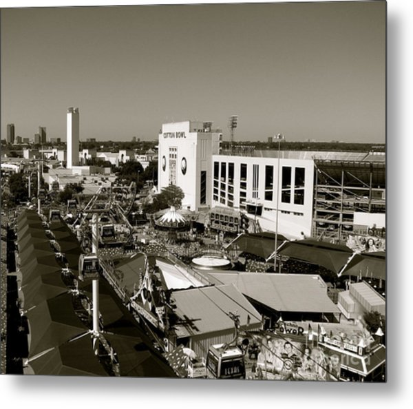 Texas State Fair II Metal Print