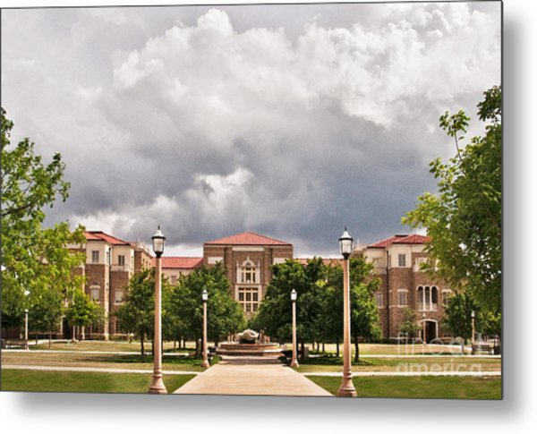 Metal Print featuring the photograph School Of Education by Mae Wertz