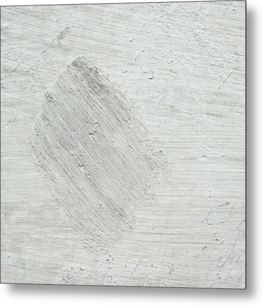 Textured Stone Background Metal Print