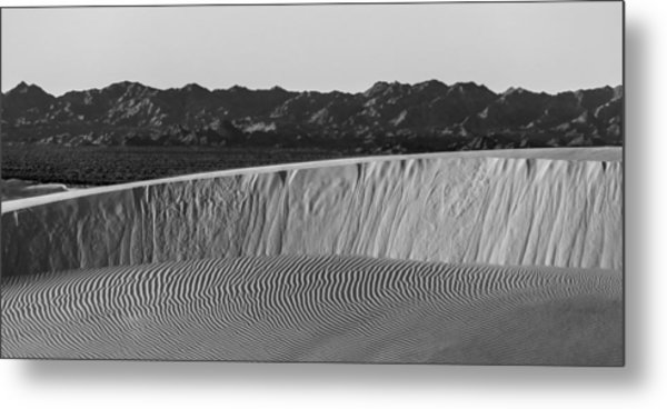 Textures Of Dune Metal Print by Peter Tellone