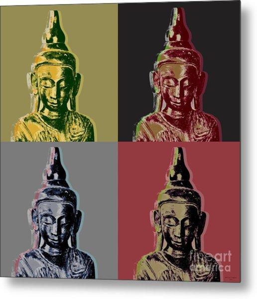 Thai Buddha Metal Print