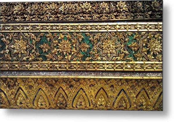Thai Kings Grand Palace Metal Print