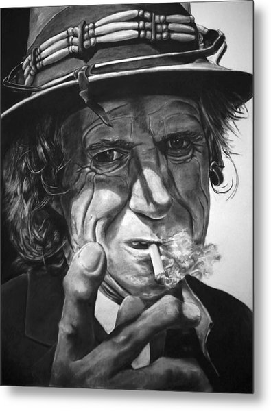That Guy Looks Like Keith Richards Metal Print