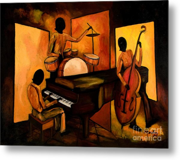 The 1st Jazz Trio Metal Print