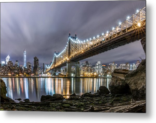 The 59th St Bridge Metal Print