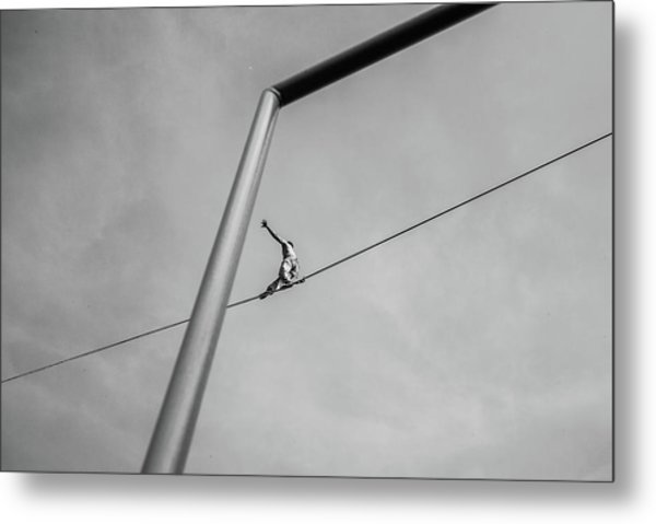 The Acrobat Metal Print by Alessandro L.