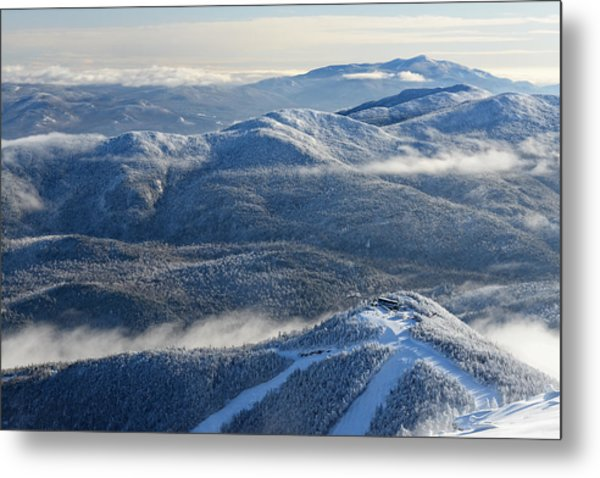 The Adirondacks Metal Print