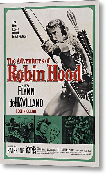 The Adventures Of Robin Hood B Metal Print