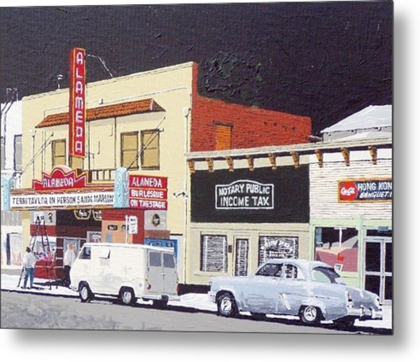 The Alameda Metal Print by Paul Guyer