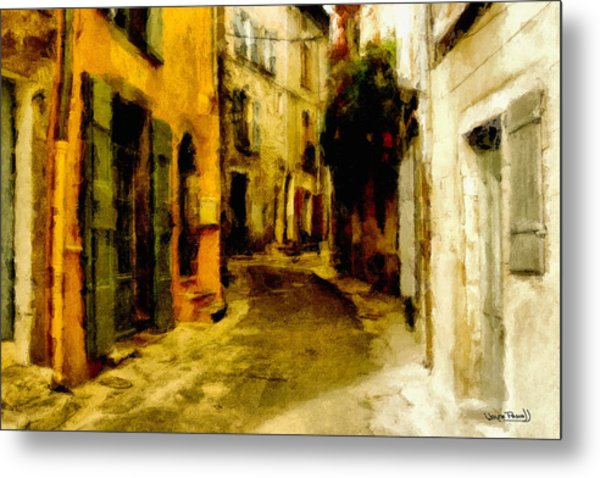 The Alley Metal Print by Wayne Pascall