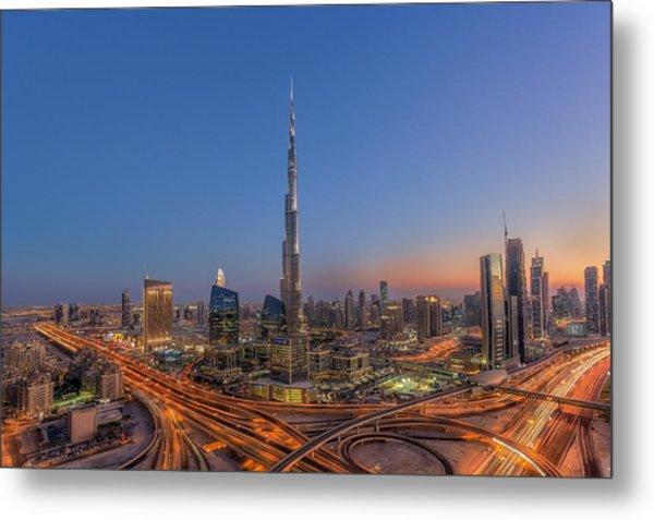 The Amazing Burj Khalifah Metal Print