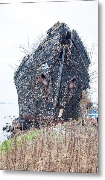 The Ancient Mariner's Ship Metal Print