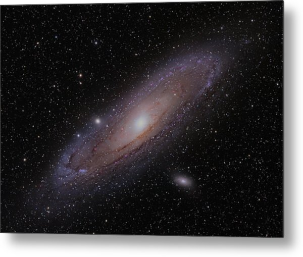 The Andromeda Galaxy Metal Print by Brian Peterson