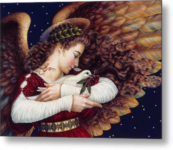 The Angel And The Dove Metal Print