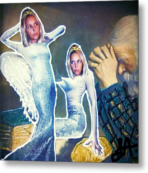 The Angels Of Nothing Metal Print