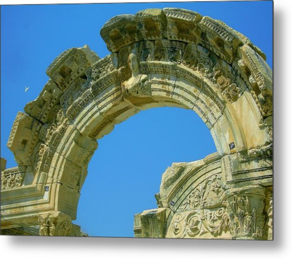 The Arch Of Diana Metal Print