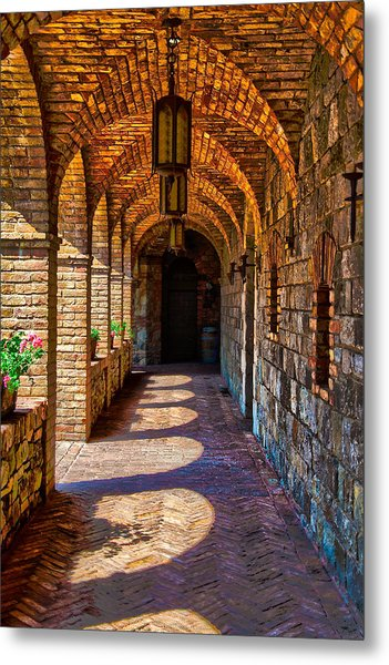 The Arches Metal Print