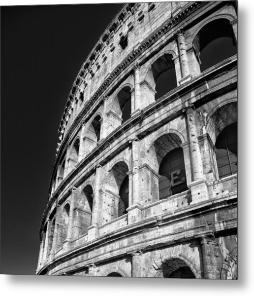 Metal Print featuring the photograph The Arena by Brad Brizek