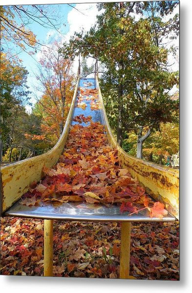 The Arrival Of Fall Metal Print