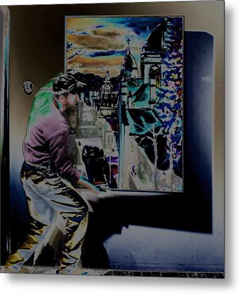 The Artist Paul Emory Metal Print
