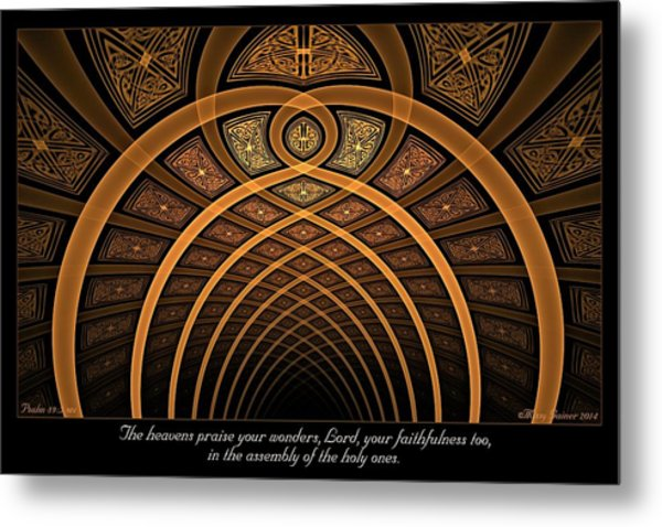 The Assembly Metal Print