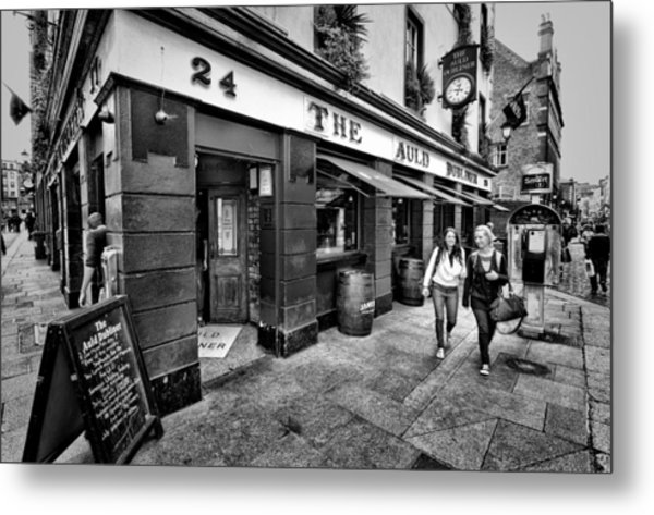 The Auld Dubliner Metal Print