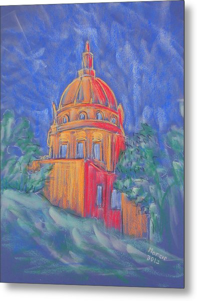 The Basilica Metal Print by Marcia Meade