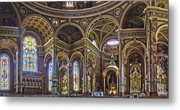 The Basilica Of St. Josaphat Metal Print