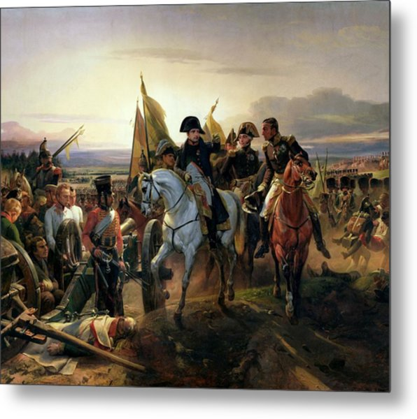 The Battle Of Friedland, 14th June 1807 Oil On Canvas Metal Print