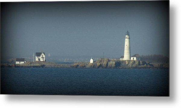 The Bay Metal Print by Maria Scarfone